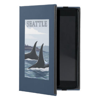 Orca Whales #1 - Seattle, Washington iPad Mini Covers