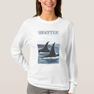Orca Whales #1 - Seattle, Washington T-Shirt