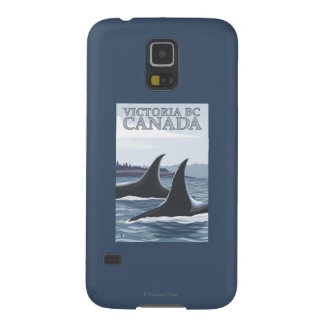 Orca Whales #1 - Victoria, BC Canada Galaxy S5 Covers
