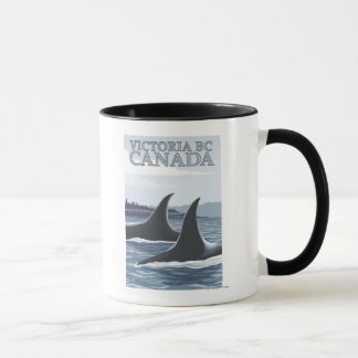 Orca Whales #1 - Victoria, BC Canada Mug