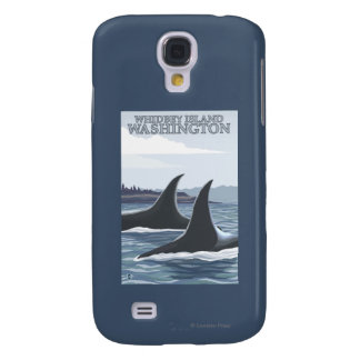 Orca Whales #1 - Whidbey, Washington Galaxy S4 Case