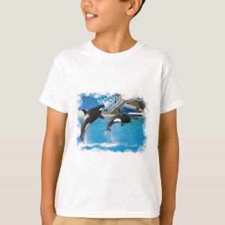 Orca Whales Children's T-Shirt