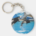 Orca Whales Keychain