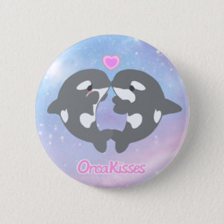 OrcaKisses brand logo 6 Cm Round Badge