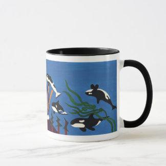 Orcas Ascending Mug