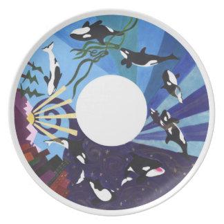 Orcas Ascending Plates