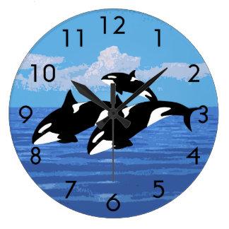 Orcas Clock