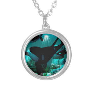 Orcas Silver Plated Necklace
