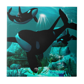 Orcas Small Square Tile