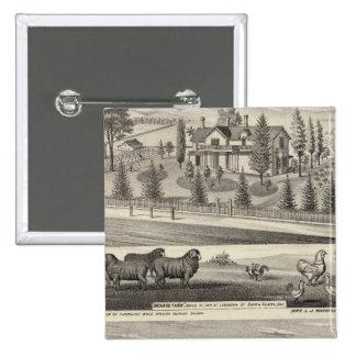 Orchard Farm, Somerville Lodge 15 Cm Square Badge
