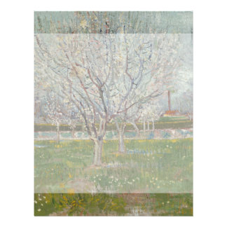 Orchard in Blossom Plum Trees by Vincent Van Gogh 21.5 Cm X 28 Cm Flyer
