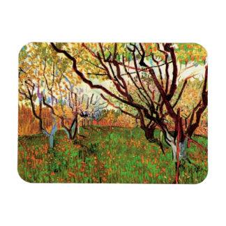 Orchard in Blossom, Vincent van Gogh Magnet