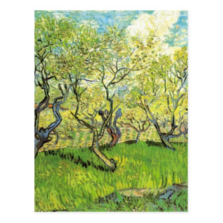 Orchard in Blossom Vincent van Gogh Postcard