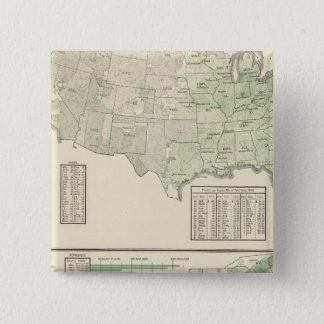 Orchard products and rice 15 cm square badge