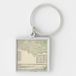 Orchard products and rice key ring