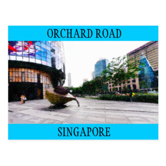 Orchard Road Singapore - Postcard