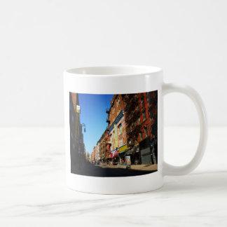 Orchard Street, Lower East Side, NYC Basic White Mug