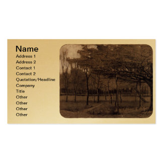 Orchard - van Gogh Double-Sided Standard Business Cards (Pack Of 100)