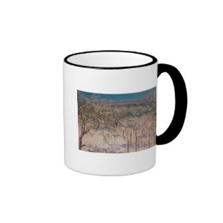 Orchard with Flowering Apple Trees, Colombes Mugs