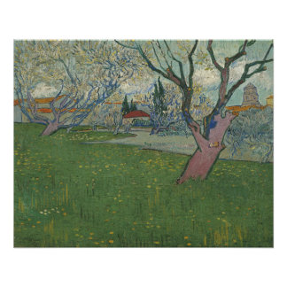 Orchards in Blossom View of Arles by Van Gogh