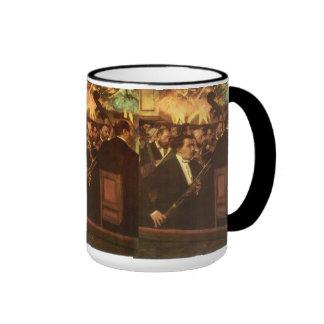Orchestra of Opera by Degas Vintage Impressionism Mug