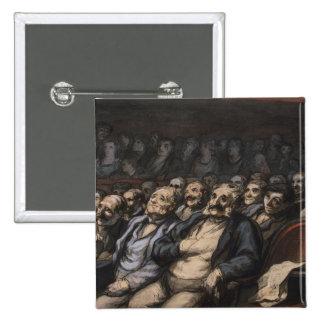 Orchestra Seat, c.1856 15 Cm Square Badge