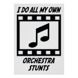 Orchestra Stunts Posters
