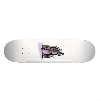 Orchestral Bass Player Image Graphic Design 19.7 Cm Skateboard Deck