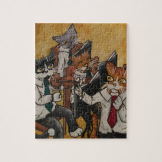 Orchestral Cats Jigsaw Puzzle