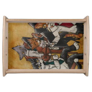 Orchestral Cats Serving Tray