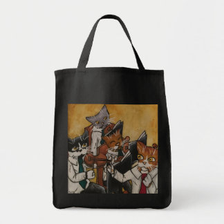 Orchestral Cats Tote Bag
