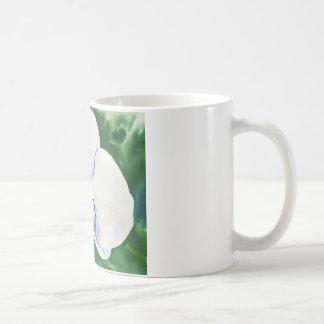 Orchid 2 basic white mug