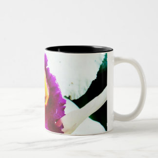 Orchid 37 Two-Tone coffee mug