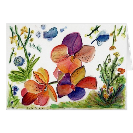 Orchid 39 card