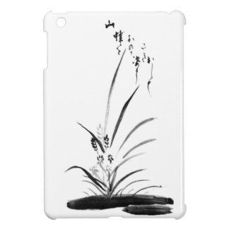 Orchid and Bee Zen painting iPad Mini Cover