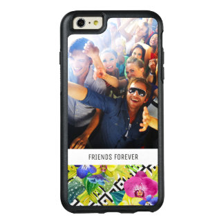Orchid Begonia & Palm | Add Your Photo & Text OtterBox iPhone 6/6s Plus Case