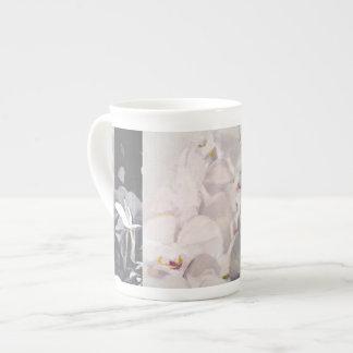 orchid bridge cups bone china mug
