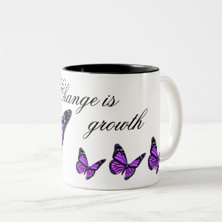 Orchid Butterfly Coffee Mug