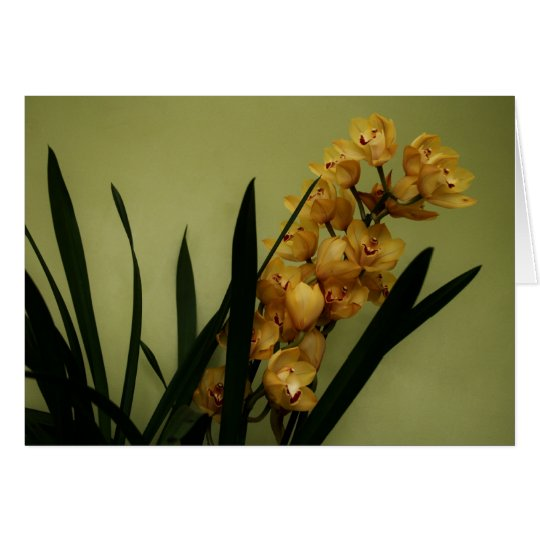 """orchid"" by Larry Coressel Card"