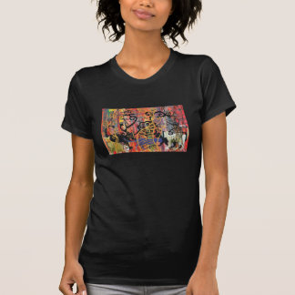 Orchid Cats Ladies T-shirt