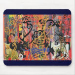 Orchid Cats Mouse Pad