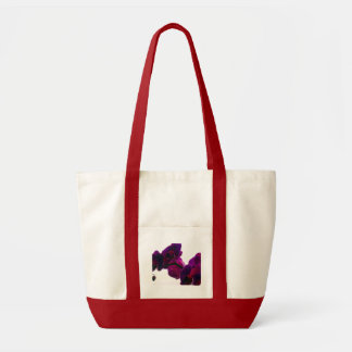 Orchid dream canvas bags