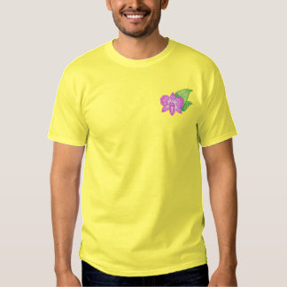 Orchid Embroidered T-Shirt