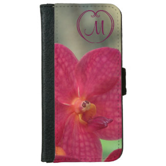 Orchid Faces iPhone 6 Wallet iPhone 6 Wallet Case