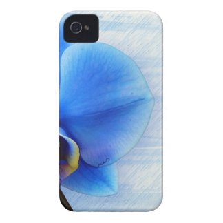 Orchid Flower Blue Love Peace Destiny Gift iPhone 4 Cover