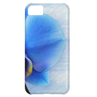 Orchid Flower Blue Love Peace Destiny Gift Case For iPhone 5C