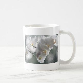 Orchid Flower Faith Love Peace Destiny Gift Basic White Mug