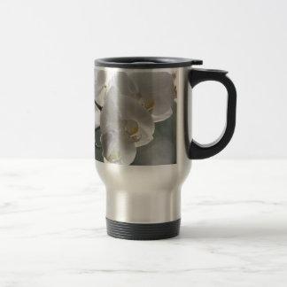 Orchid Flower Faith Love Peace Destiny Gift Stainless Steel Travel Mug