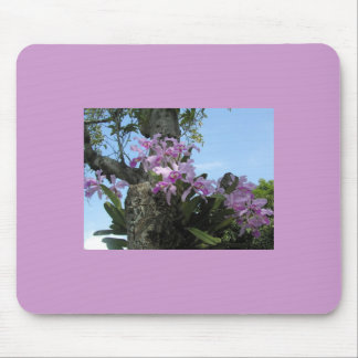Orchid Flower Mousepad -