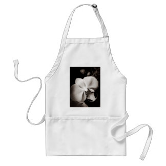 Orchid flower standard apron